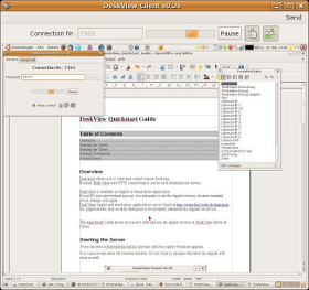 DeskView Screenshot