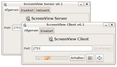 ScreenView Screenshot
